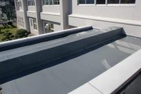 写真:屋上防水補修工事