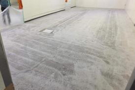 工場床塗装下地処理