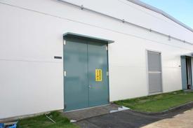 写真:工場外壁塗装工事