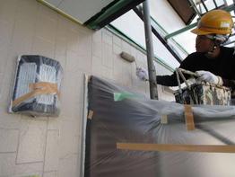 写真:住宅外壁塗装補修工事