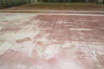 写真:自動車部品工場作業エリア床塗装工事下地処理