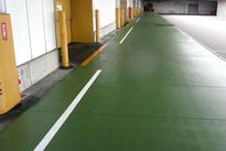 写真:倉庫プラットホーム塗床工事
