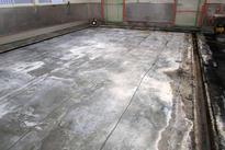 写真:食品工場(漬物工場)塗床工事下地処理