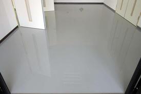 写真:塗床工事 床塗装 防塵塗装 エポキシ