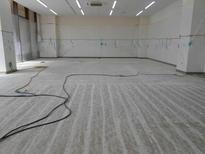 写真:工場 エポキシ樹脂 塗床工事 塗り床工事 床塗装 床改修 施工例 防塵床 下地処理 旧塗膜撤去 下地研磨 研削